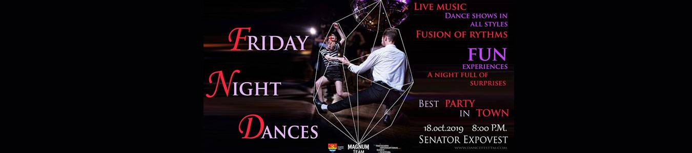 FRIDAY NIGHT DANCES