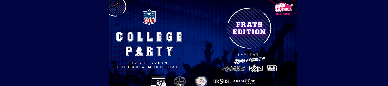 College Party - Frats Edition /w Gojira & Planet H