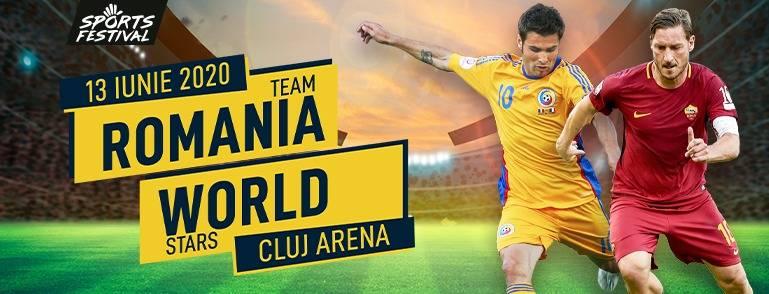 TEAM ROMANIA vs. WORLD STARS