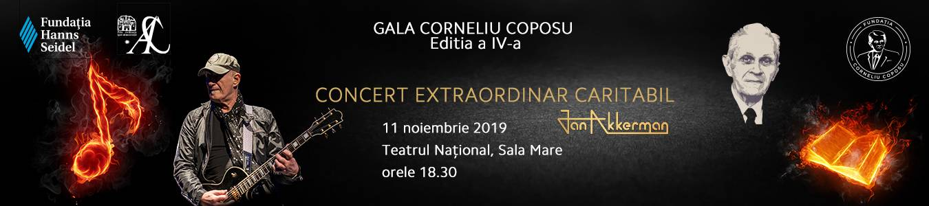 Gala Corneliu Coposu - Concert Extraordinar JAN AKKERMAN