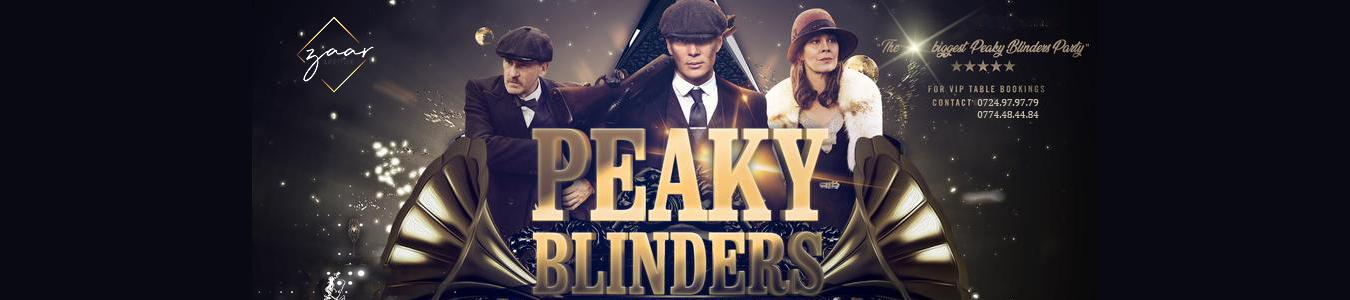 PEAKY BLINDERS - Revelion 2020