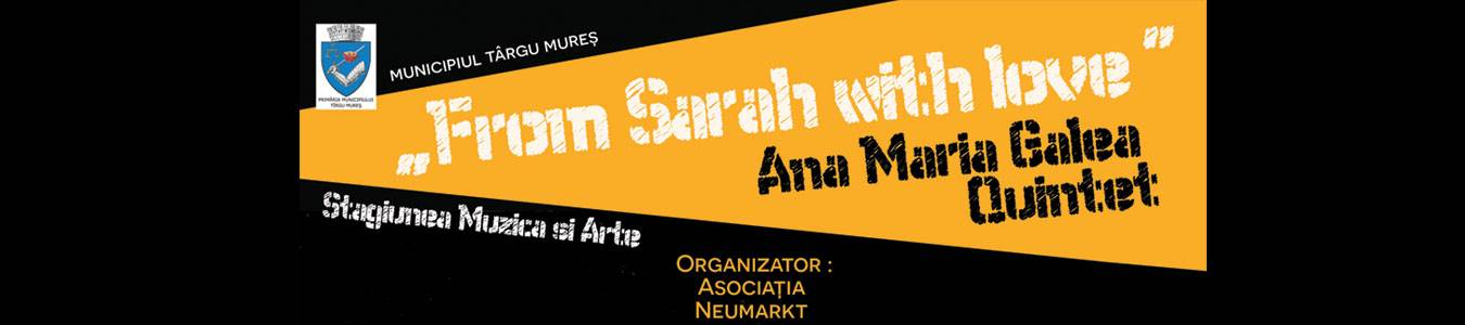 From Sarah with love – Ana Maria Galea Quintet