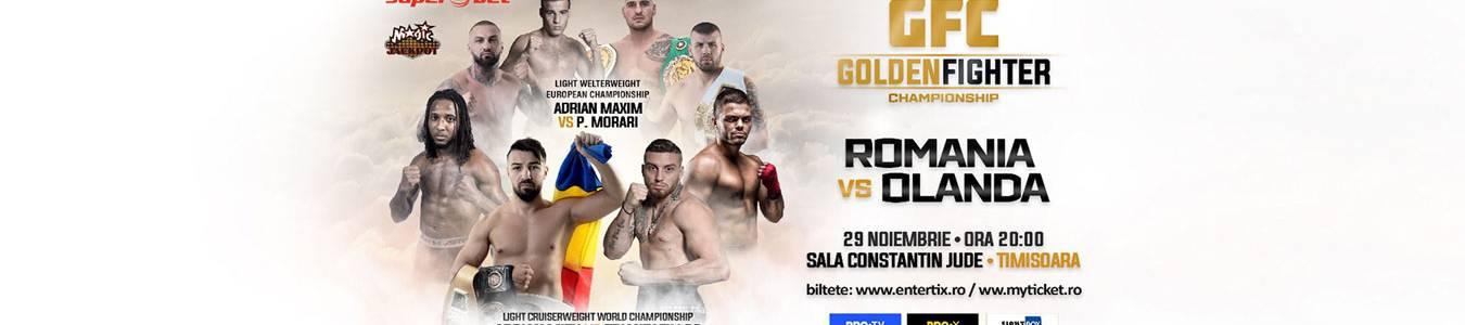 Golden Fighter Championship Romania VS Olanda