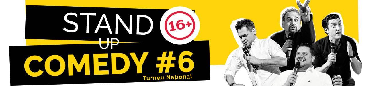 Stand up Comedy #6 - Turneu Național
