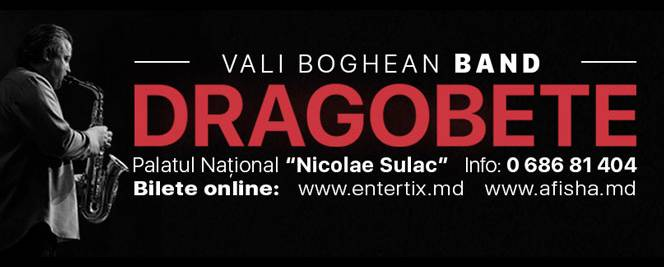 Vali Boghean Band concert de Dragobete