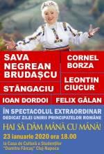 Spectacol festiv de Ziua Unirii Principatelor 'Hai sa dam mana cu mana!'