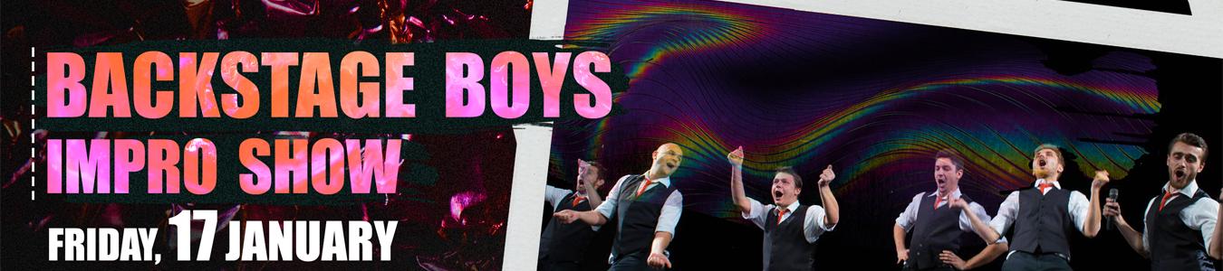 Backstage Boys at Mojo