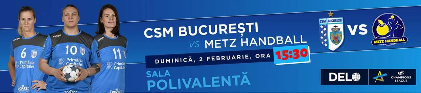 CSM Bucuresti vs Metz Handball