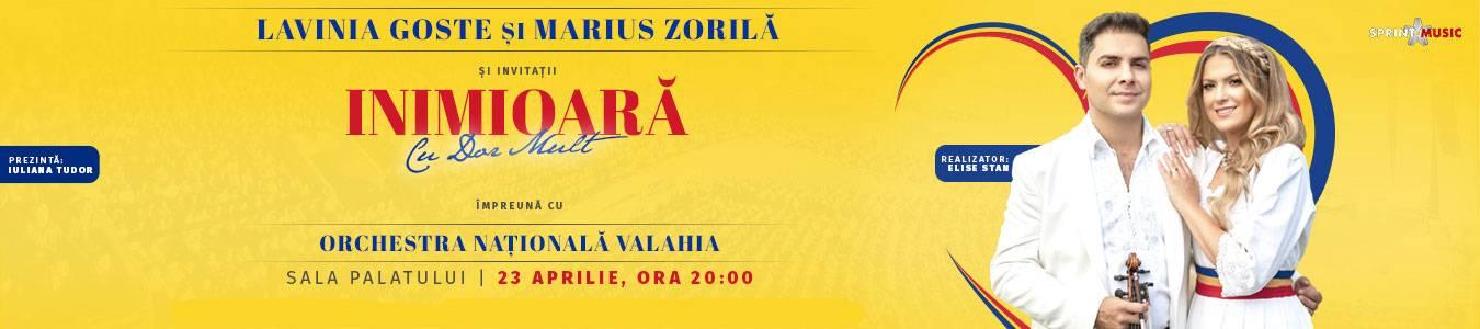 Lavinia Goste si Marius Zorila - Inimioara cu dor mult