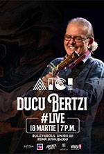 Ducu Bertzi live #Aici