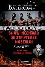 TABOO BOYS show incendiar de 8 MARTIE