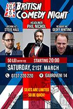 British Comedy Night w/ Phil Nichol