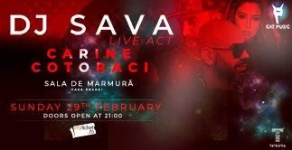 DJ Sava Live Act || Carine , Cotoraci