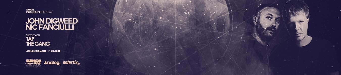 Area31 pres. Interstellar JOHN DIGWEED and NIC FANCIULLI