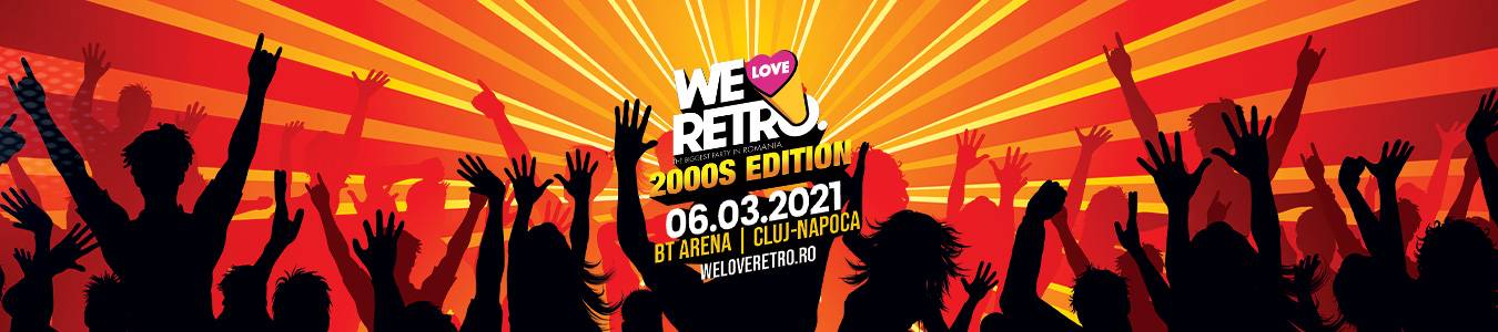 We Love Retro Anii 2000