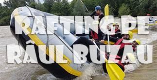 Rafting pe raul Buzau