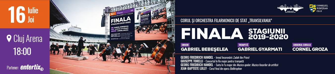 Corul si Orchestra Filarmonicii de Stat Transilvania Finala stagiunii 2019-2020