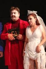 Angajat la doi patroni - Teatrul Mic