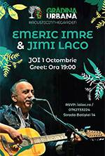 Emeric Imre & Jimi Laco accoustic in the Garden