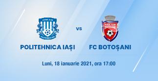 CSM POLITEHNICA IASI - FC BOTOSANI