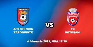 AFC CHINDIA TARGOVISTE - FC BOTOSANI