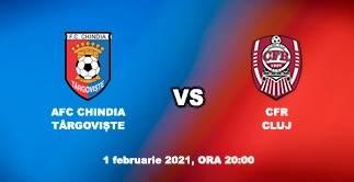 AFC CHINDIA TARGOVISTE - CFR CLUJ