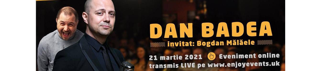Am Umor UK Live Online – Dan Badea si Bogdan Malaele