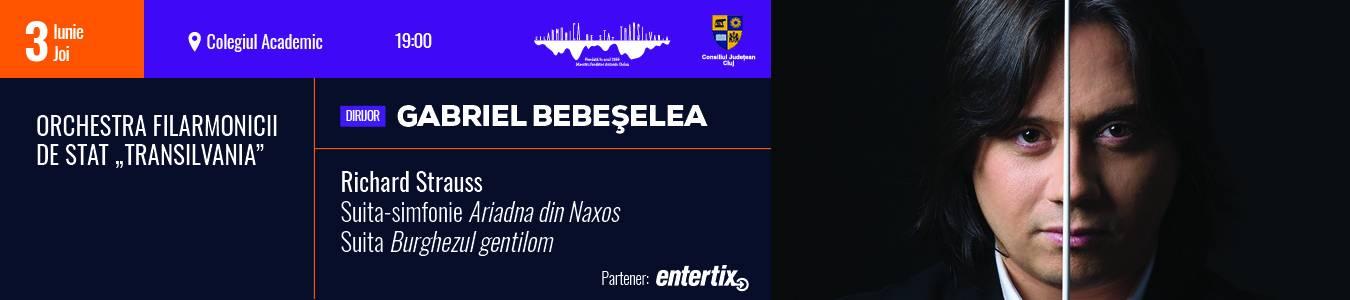Concert simfonic- dirijor Gabriel Bebeselea