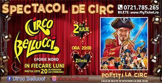 CIRCO BELLUCCI prezinta PIRATII - Spectacole iulie 2021