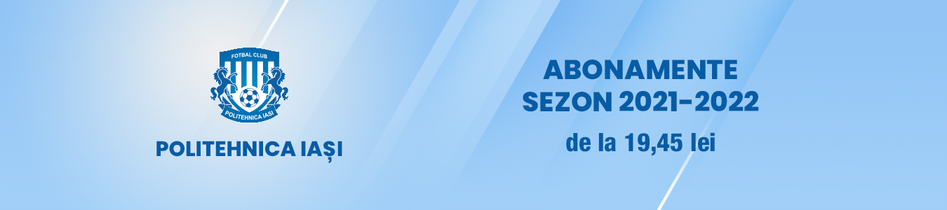 Abonament CSM Poli Iasi - Sezon 2021/2022