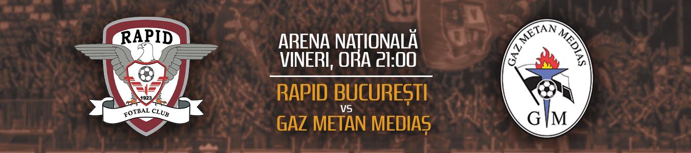 FC RAPID 1923 VS. GAZ METAN MEDIAS
