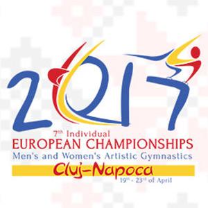 Poster Campionatele Europene de Gimnastica